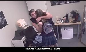 TeamSkeet - Highschool Chick Geting Learn of