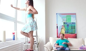Nubiles-Porn My Outsider Teen Step-Sis Swallows!