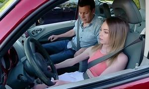 ExxxtraSmall - Nuisance Fucked Wide of Her Driving Professor