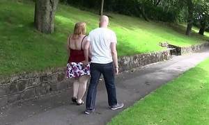 Hot chubby bitch picked up by from