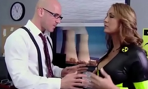 Big TITS in uniform - (Trina Michaels, Johnny Sins) - Nuclear Bowels to the rescue - Brazzers
